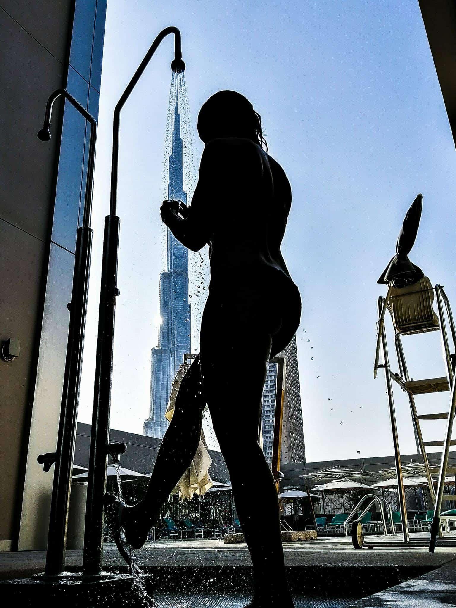 Resan i Dubai fortsätter